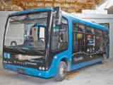 Композитный стеклопластиковый автобус